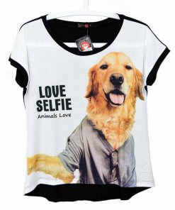 BLUSA GOLDEN RETRIEVER - CAMISETA CACHORRO GOLDEN