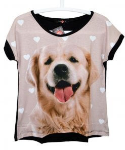 CAMISETA DE GOLDEN RETRIEVER - BLUSA GOLDEN RETRIEVER